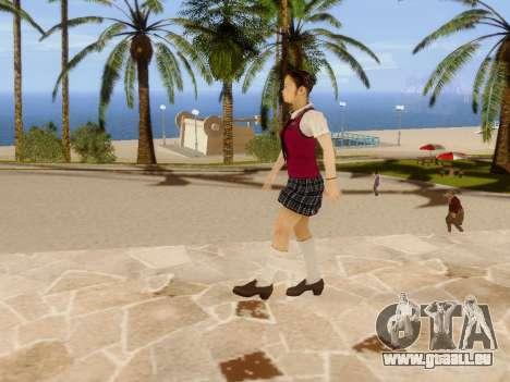 Hanako pour GTA San Andreas huitième écran