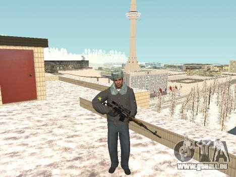 Pack de russe des armes légères pour GTA San Andreas