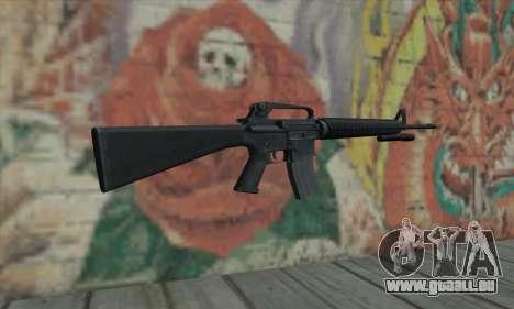 M16 de L4D pour GTA San Andreas deuxième écran