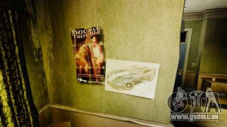 Neue Plakate in der Wohnung des Romans für GTA 4