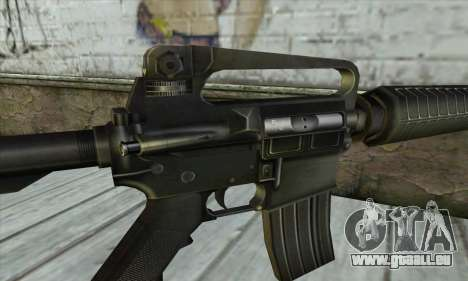 M4 из Conter Strike für GTA San Andreas dritten Screenshot