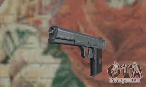 TT Pistol pour GTA San Andreas