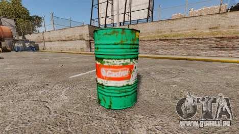De nouveaux livres à colorier pour les barils pour GTA 4 quatrième écran