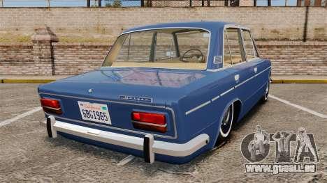 AIDE-2103 Lada pour GTA 4 Vue arrière de la gauche