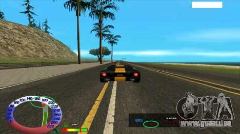 Die Höchstgeschwindigkeit für SAMP für GTA San Andreas zweiten Screenshot