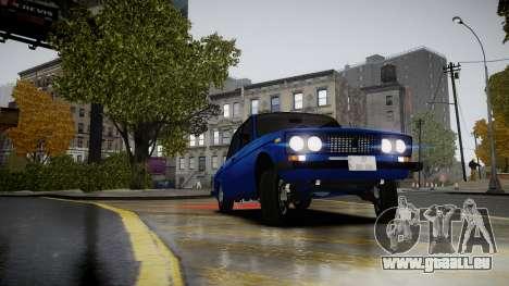 VAZ 2106 Baku pour GTA 4 est un droit