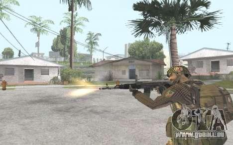 AK-101 pour GTA San Andreas quatrième écran