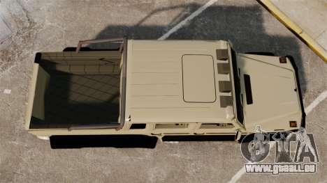 Mercedes-Benz G63 AMG 6x6 für GTA 4 rechte Ansicht