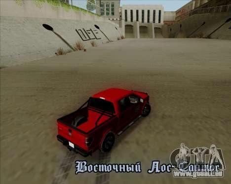 Ford F-150 für GTA San Andreas Seitenansicht