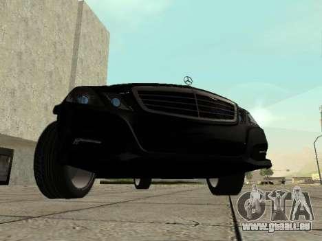 Mercedes-Benz w212 E-class Estate für GTA San Andreas linke Ansicht