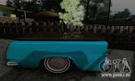 Remorque pour Vaz 2102 pour GTA San Andreas sur la vue arrière gauche
