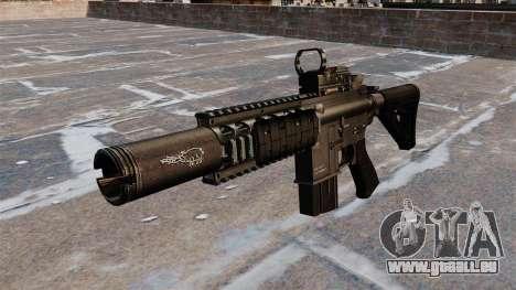Automatique carabine M4A1 Navy SEAL pour GTA 4