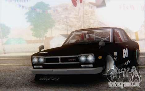 Nissan Skyline 2000 GTR Drift pour GTA San Andreas
