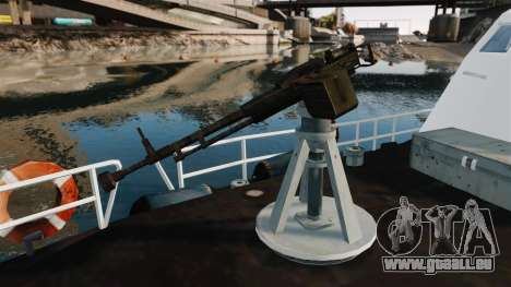Канонерская Boot U.S. Coastguard für GTA 4 Rückansicht