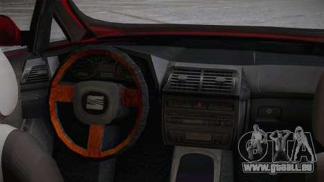 Seat Toledo 1.9TDi 2006 pour GTA San Andreas vue de droite