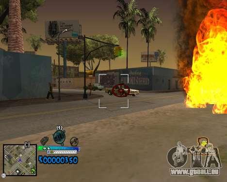 C-HUD Old School pour GTA San Andreas troisième écran