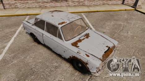Lotus Cortina 1963 für GTA 4 Innen