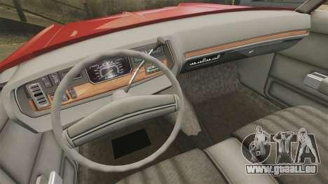 Dodge Polara 1971 für GTA 4 Seitenansicht