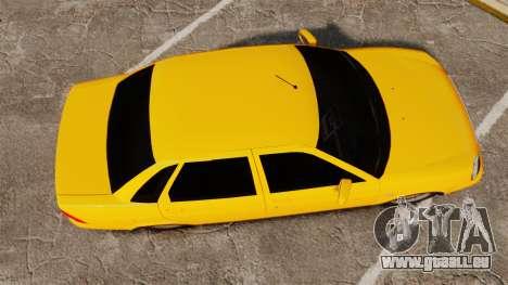 VAZ-Lada 2170 Priora pour GTA 4 est un droit