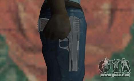 TT Pistol pour GTA San Andreas troisième écran