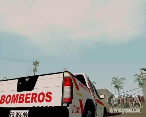 Nissan Terrano pour GTA San Andreas vue de côté