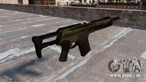 Assault rifle Crysis 2 v2.0 pour GTA 4 secondes d'écran