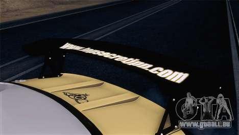 Nissan Silvia S15 TopSecret für GTA San Andreas Rückansicht