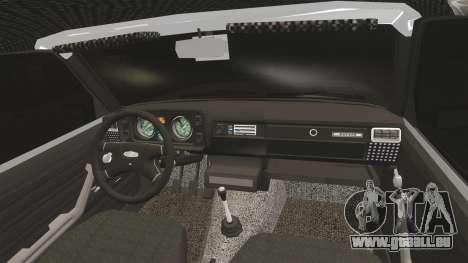 VAZ-2105 für GTA 4 Innenansicht