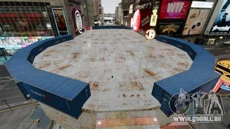 Open arena für den Kampf gegen Fahrzeuge für GTA 4 Sekunden Bildschirm