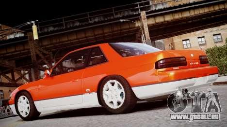 Nissan 240sx Mal de 1992 pour GTA 4 Vue arrière