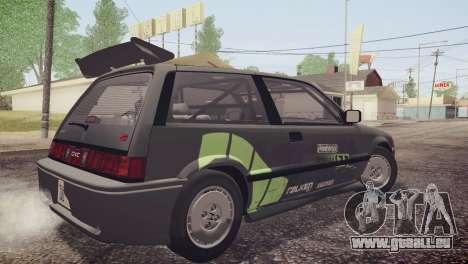 Honda Civic Si 1986 HQLM für GTA San Andreas