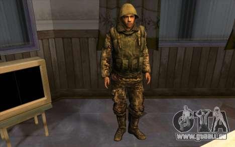 Les soldats de la SA et le Mississippi de la gar pour GTA San Andreas quatrième écran