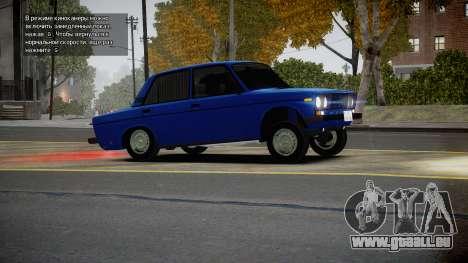 VAZ 2106 Baku für GTA 4