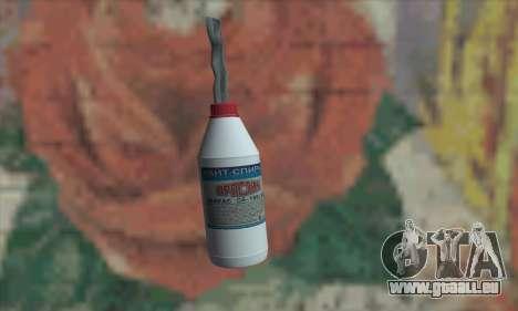 Une bouteille de White-Spirit pour GTA San Andreas