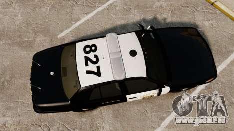 Ford Crown Victoria 2008 LCHP [ELS] pour GTA 4 est un droit