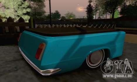 Remorque pour Vaz 2102 pour GTA San Andreas laissé vue