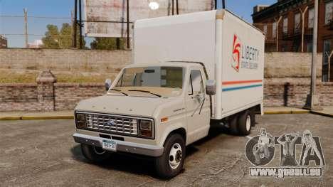 Ford E-350 1988 cube truck für GTA 4