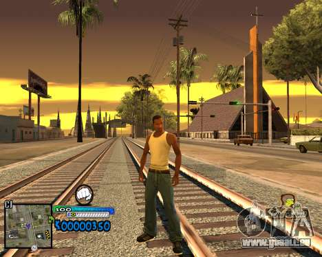 C-HUD Old School pour GTA San Andreas