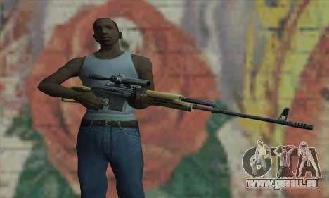 Scharfschützengewehr für GTA San Andreas dritten Screenshot