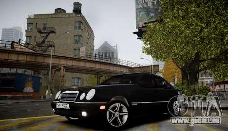 Mercedes-Benz E280 Beta für GTA 4 Rückansicht