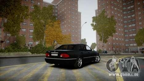Mercedes-Benz E280 Beta pour GTA 4 est un droit
