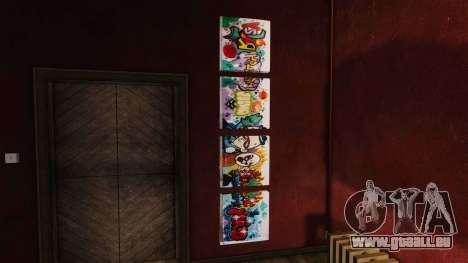 Neue Plakate in der Wohnung Playboy für GTA 4 dritte Screenshot