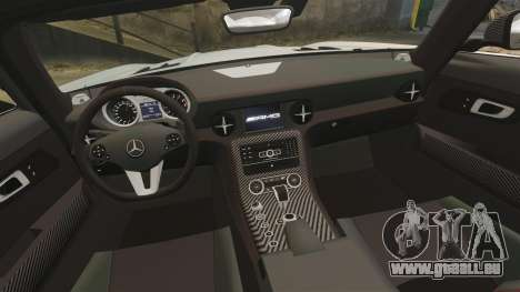 Mercedes-Benz SLS 2014 AMG Black Series pour GTA 4 est un côté