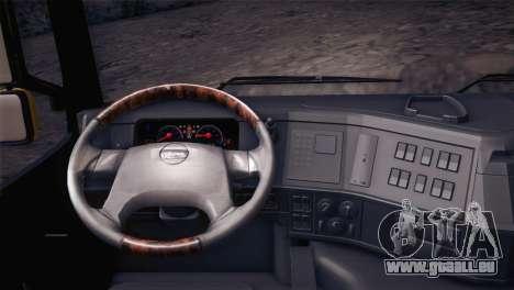 Volvo FM12 8X4 Dumper pour GTA San Andreas vue de droite
