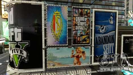 Panneaux d'affichage de GTA 5 pour GTA 4 secondes d'écran
