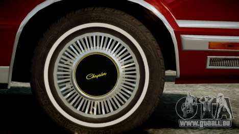 Chrysler New Yorker 1988 für GTA 4 rechte Ansicht