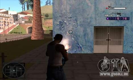 C-HUD Belenky pour GTA San Andreas deuxième écran