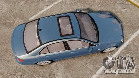 Mercedes-Benz C63 AMG 2013 pour GTA 4 est un droit