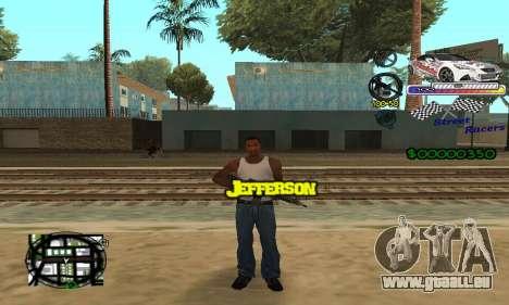 HUD Races für GTA San Andreas