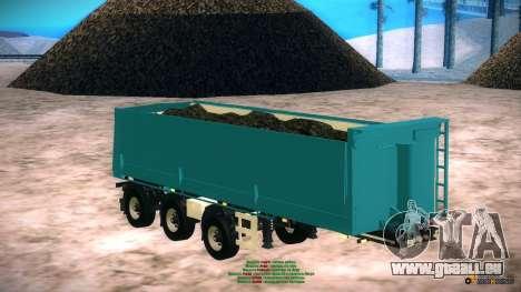 Trailer für Artict2 für GTA San Andreas zurück linke Ansicht